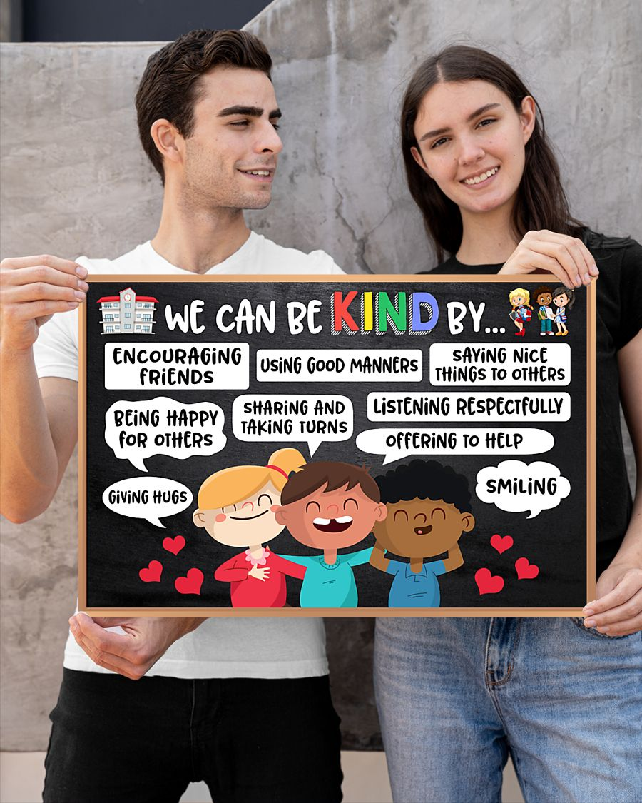 back to school we can be kind by poster 2