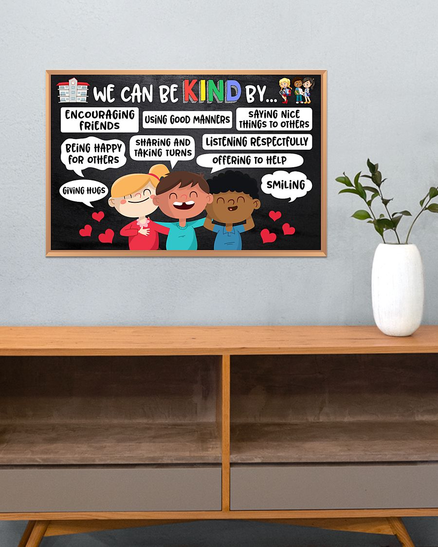 back to school we can be kind by poster 3