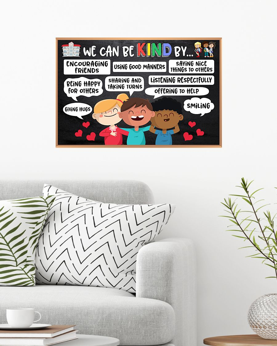 back to school we can be kind by poster 4