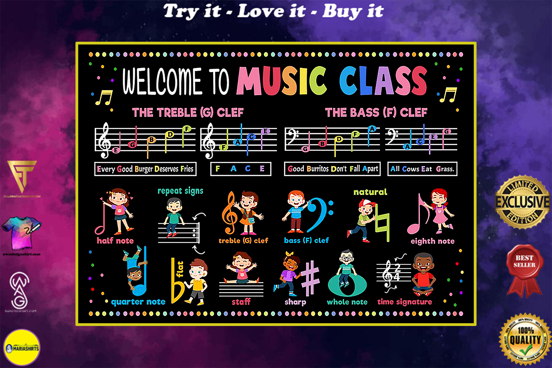 back to school welcome to music class poster