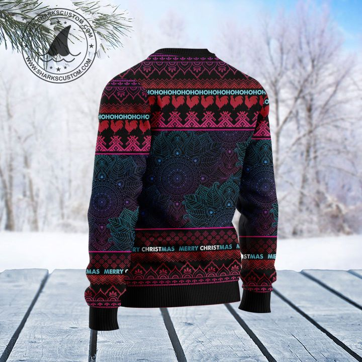 chicken hei hei i dont fart i whisper in my pants ugly christmas sweater 4