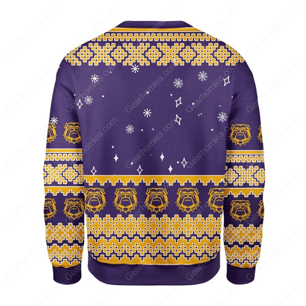 christmas time omega psi phi all over printed ugly christmas sweater 4