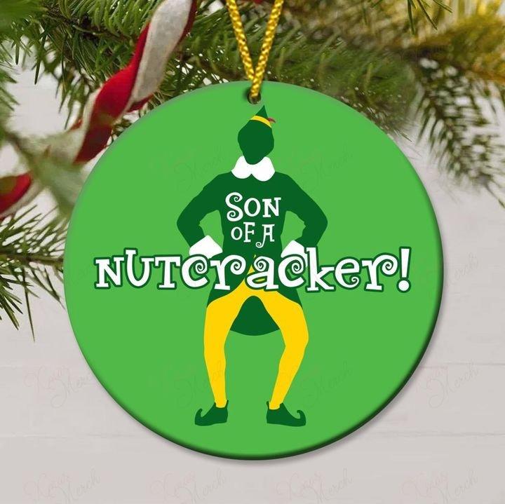 elf christmas son of a nutcracker christmas ornament 3