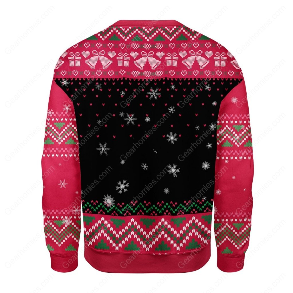 grinch feel the joy all over printed ugly christmas sweater 4