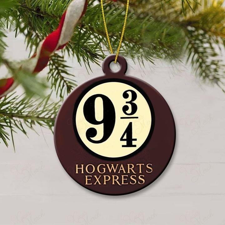 harry potter hogwarts express christmas ornament 3