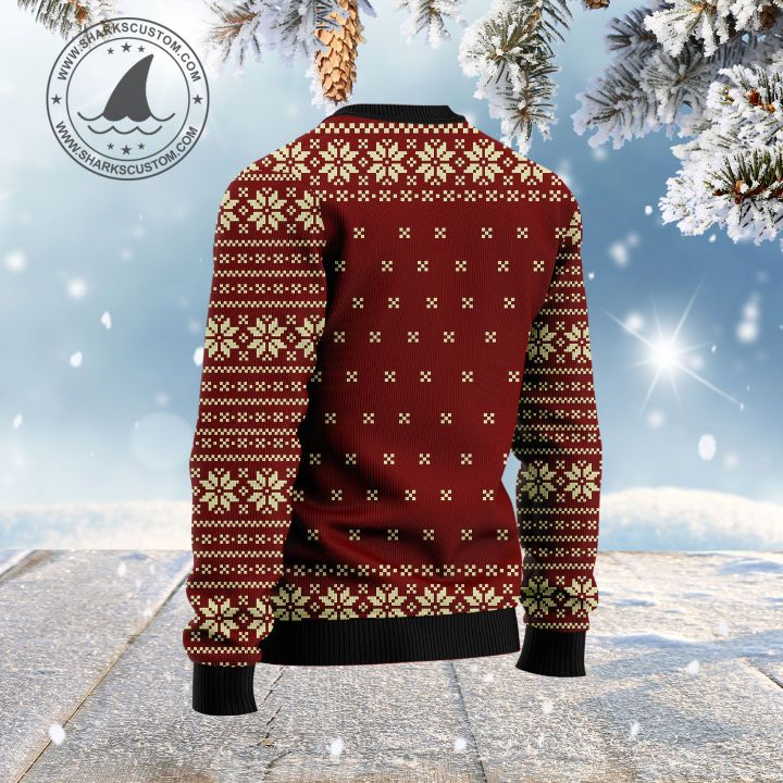 may your holiday be as bright as your spirits are light ugly christmas sweater 4