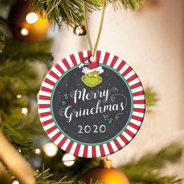 merry grinchmas 2020 christmas ornament 2