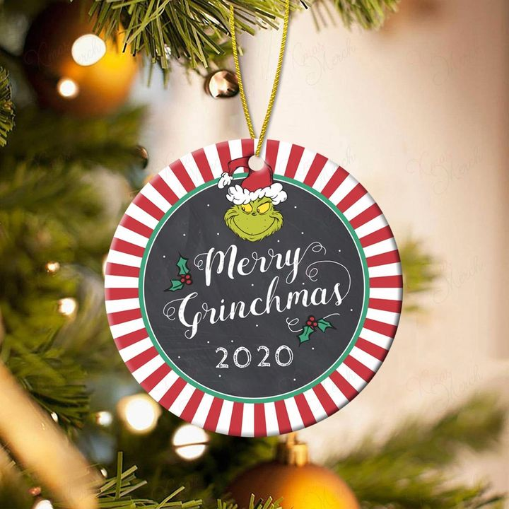 merry grinchmas 2020 christmas ornament 3