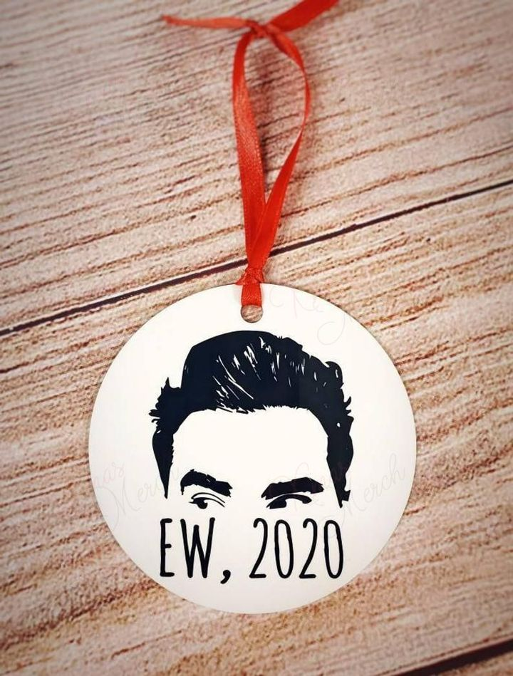 schitts creek david ew 2020 christmas ornament 3