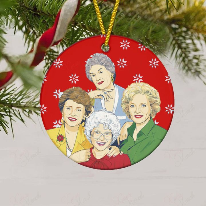the golden girls christmas ornament 5