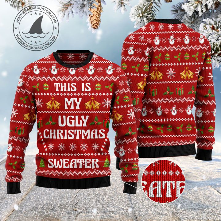this is my ugly christmas sweater all over printed ugly christmas sweater 1