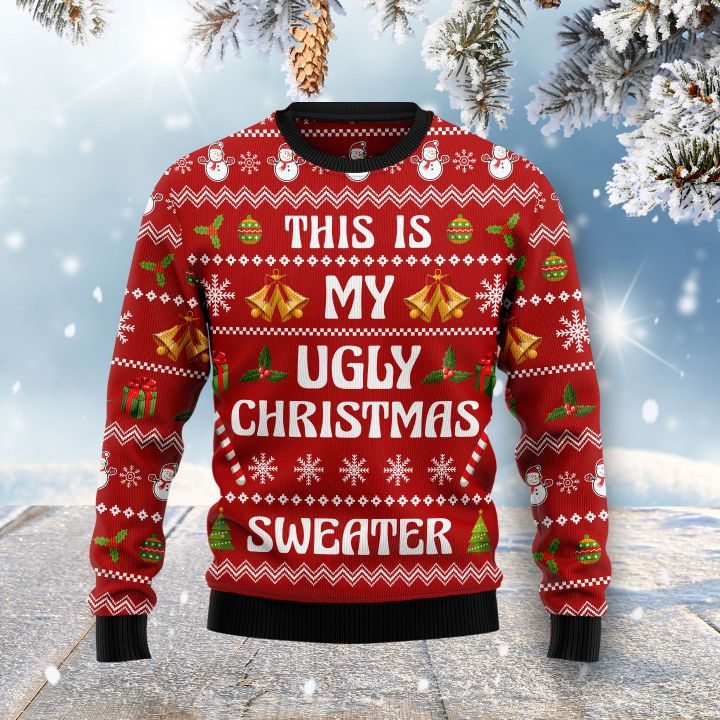 this is my ugly christmas sweater all over printed ugly christmas sweater 2