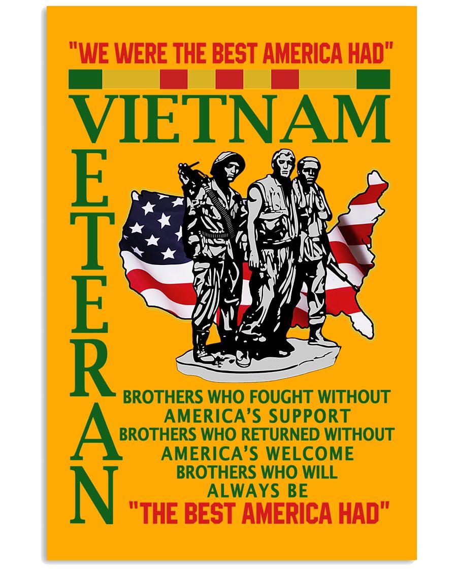 we were the best american had vietnam veteran poster 1