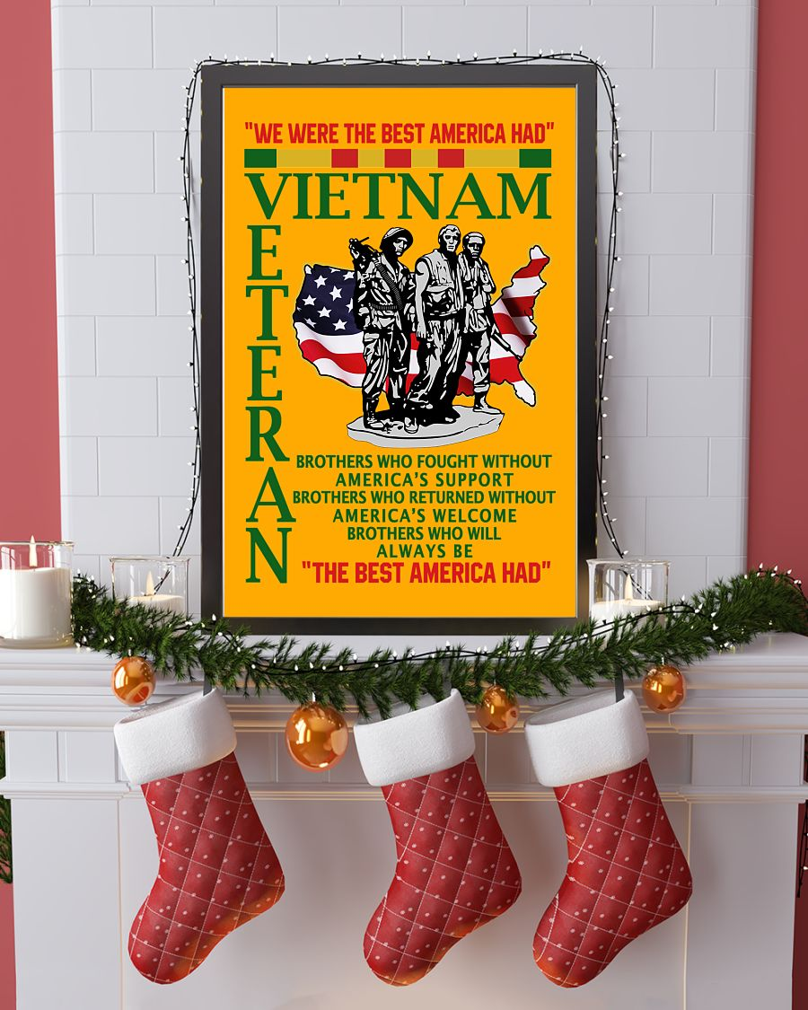 we were the best american had vietnam veteran poster 3