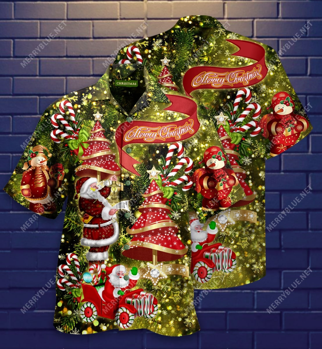 believe in magic of christmas full printing hawaiian shirt 3