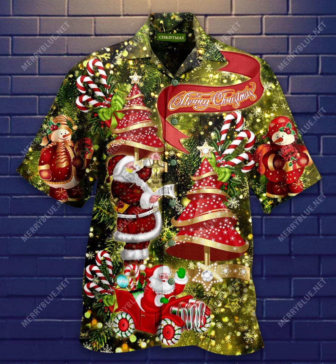 believe in magic of christmas full printing hawaiian shirt 5