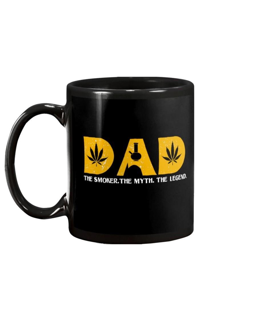 dad weed leaf the smoker the myth the legend mug 5