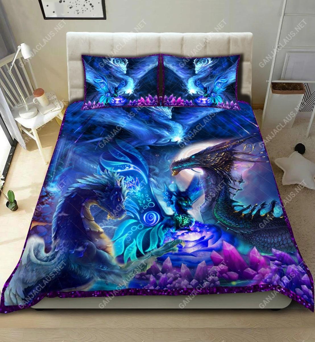 dragon night full printing bedding set 2