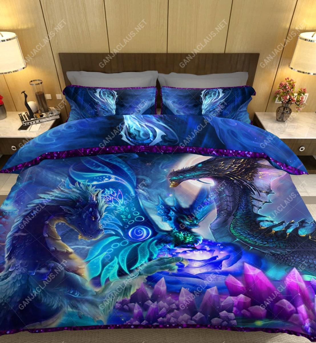 dragon night full printing bedding set 5