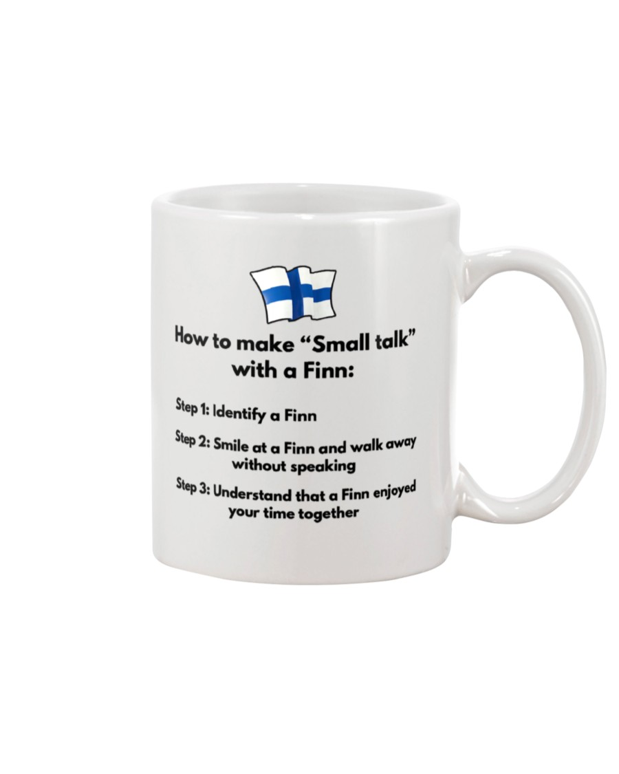 how to make small talk with a finn mug 2