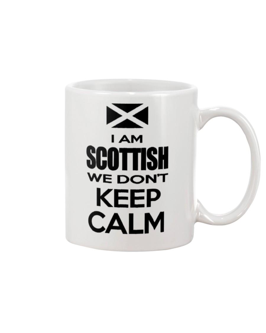 i am scottish we dont keep calm mug 2