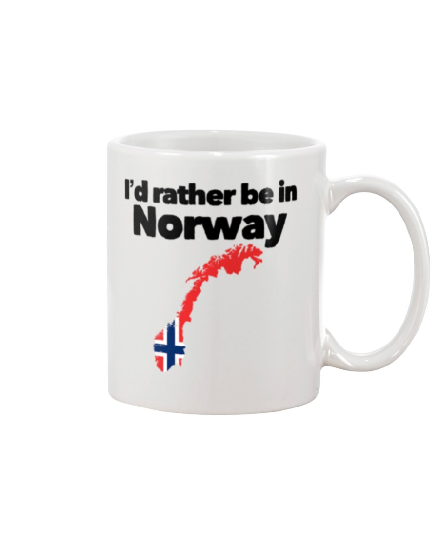 id rather be in norway flag mug 2