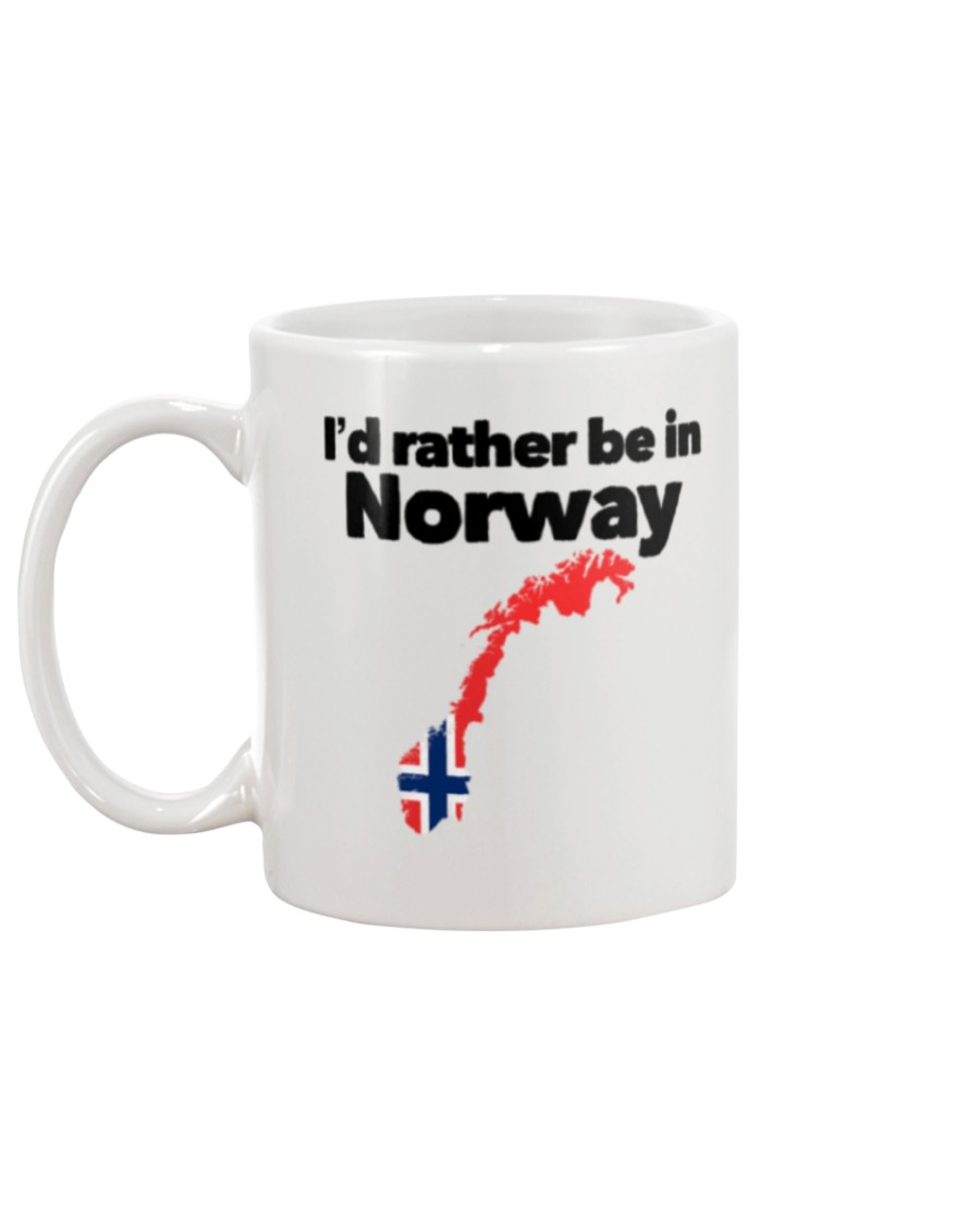 id rather be in norway flag mug 5
