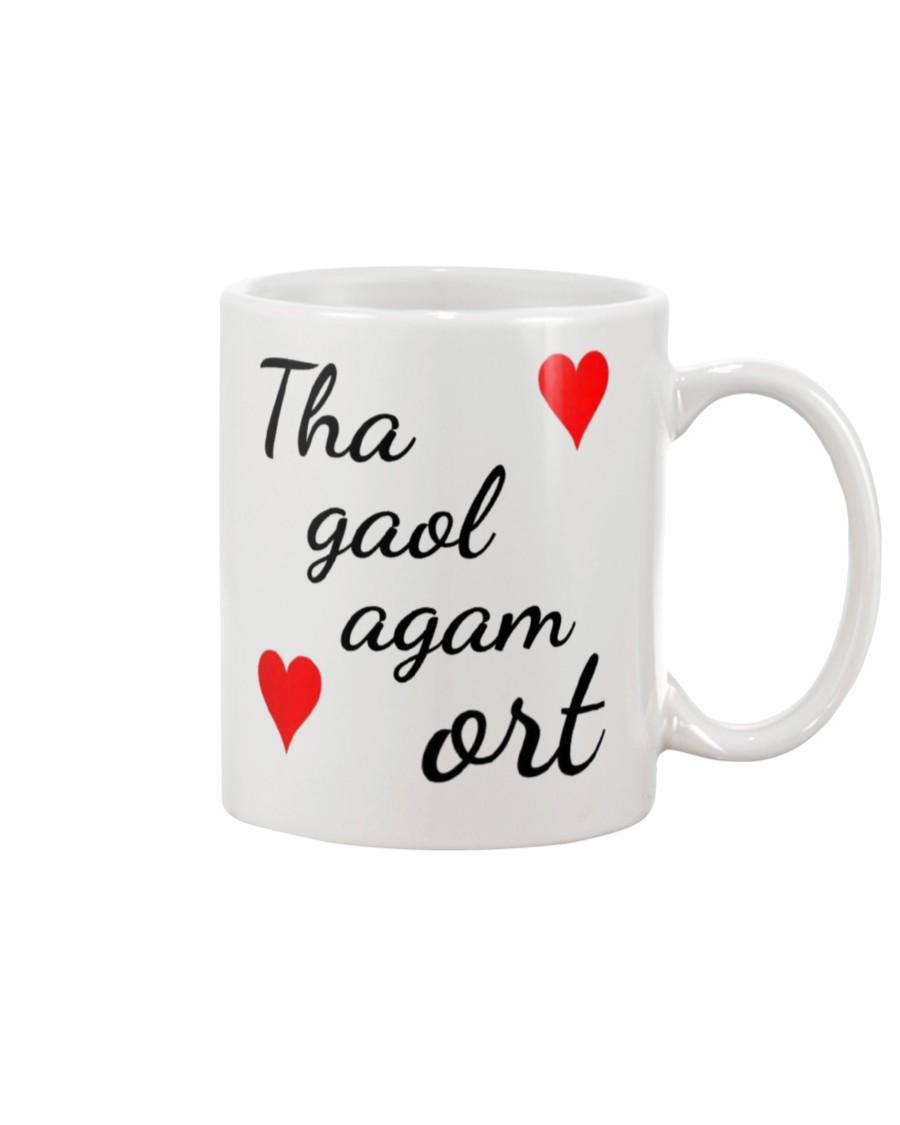 scotland flag i love you mug 2