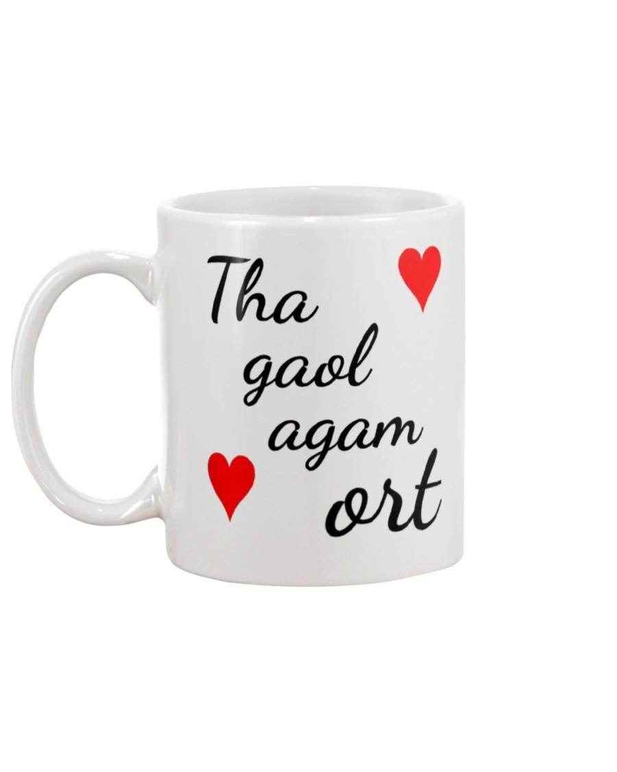 scotland flag i love you mug 5