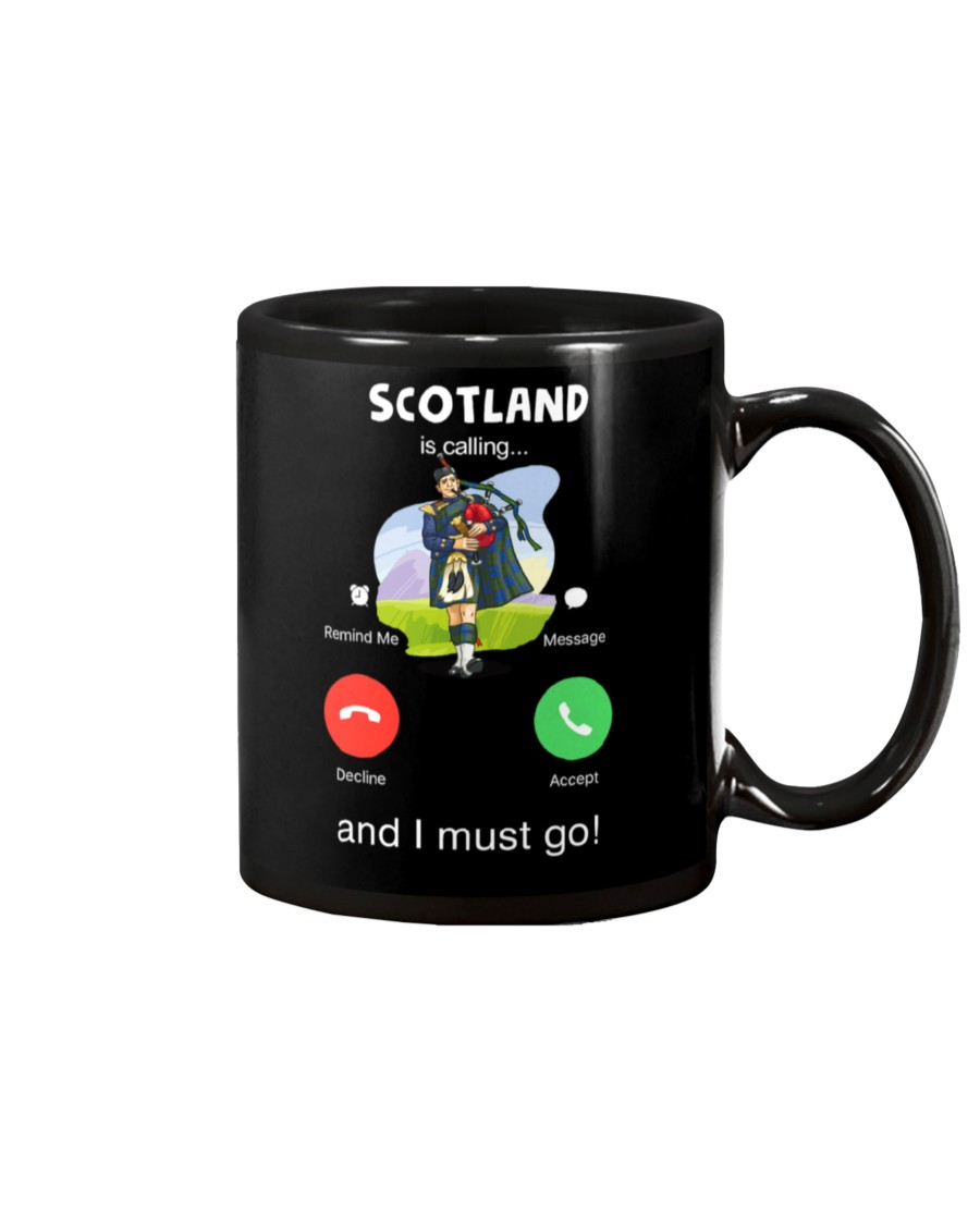 scotland is calling and i must go mug 2