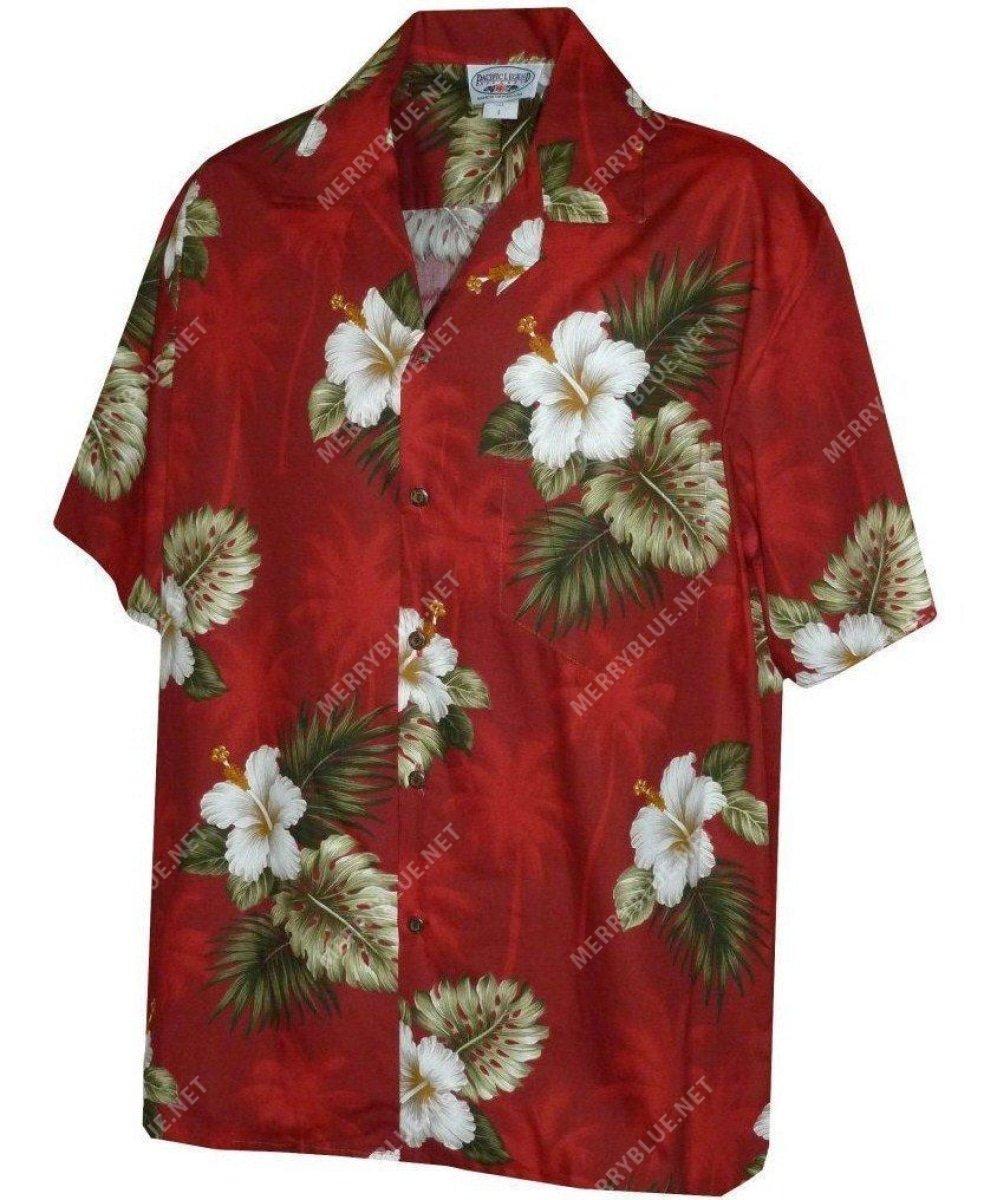 tropical flower full printing hawaiian shirt 2