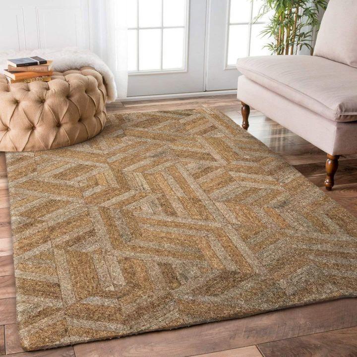 vintage basket weave baseball fan all over printed rug 5