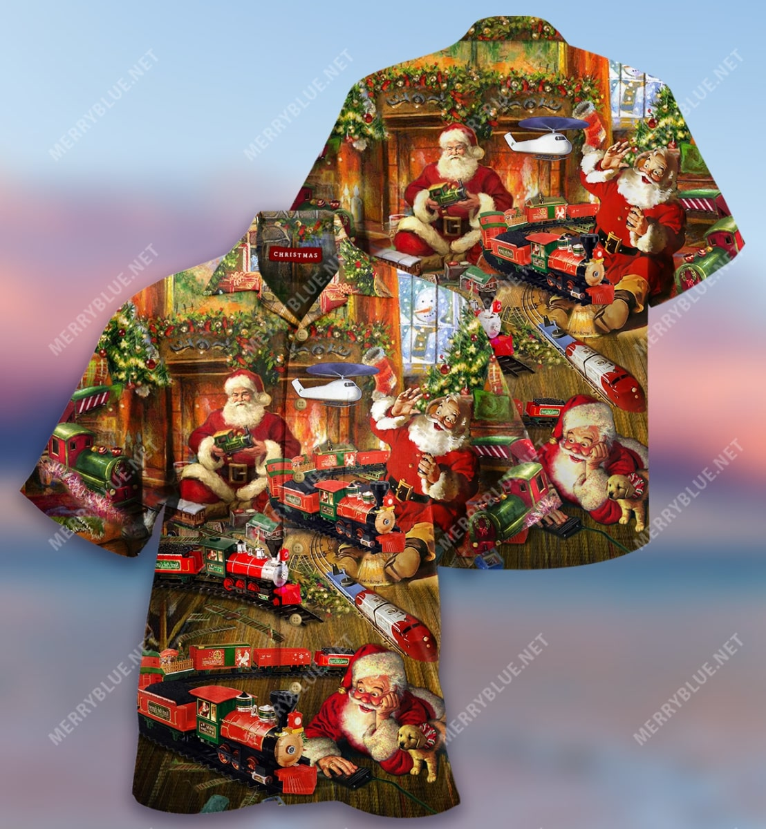 were never too old for christmas full printing hawaiian shirt 2