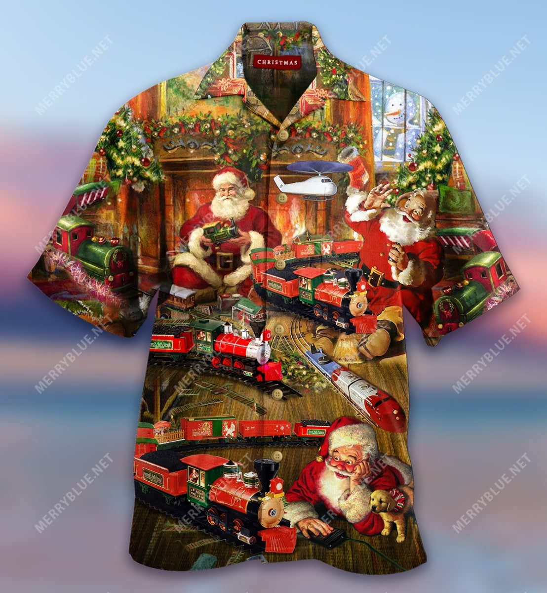 were never too old for christmas full printing hawaiian shirt 5