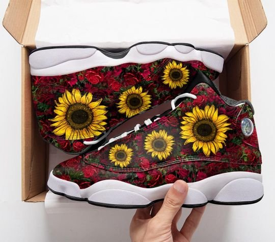 in a worlds full of roses be a sunflower air jordan 13 sneakers 1