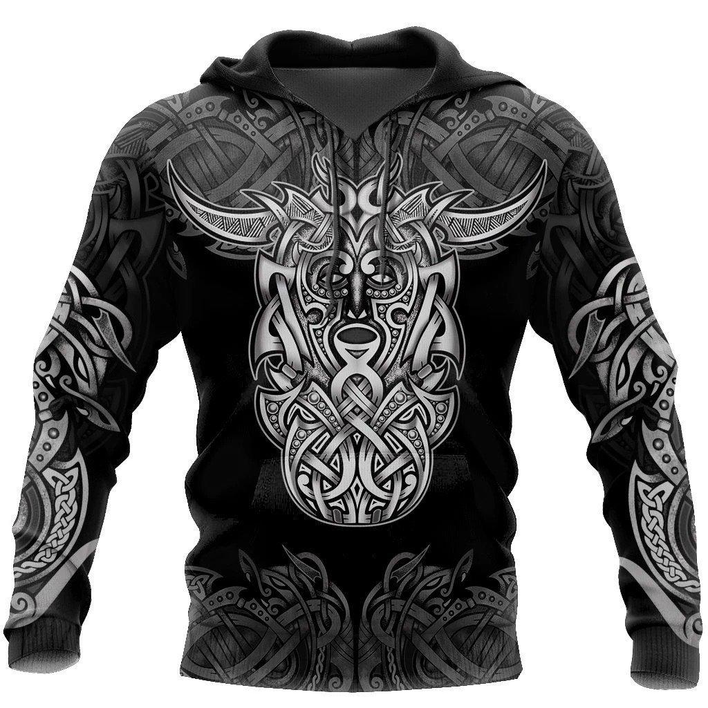 loki godmas vikings tattoo all over printed shirt 1