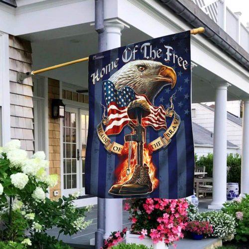 american eagle patriot veteran all over print flag 2
