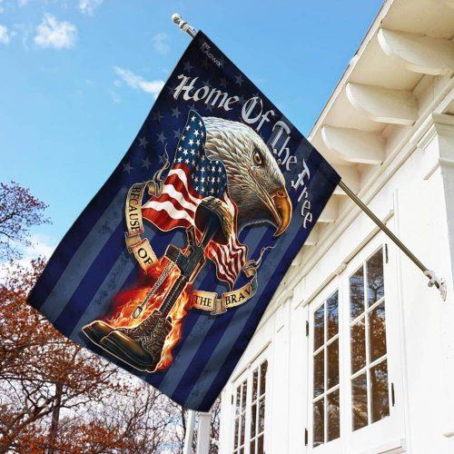 american eagle patriot veteran all over print flag 3