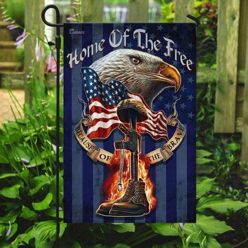american eagle patriot veteran all over print flag 5