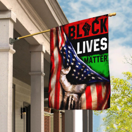 american flag black lives matter all over print flag 2