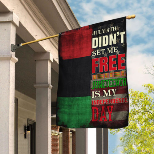 american flag juneteenth is my independence day african all over print flag 2