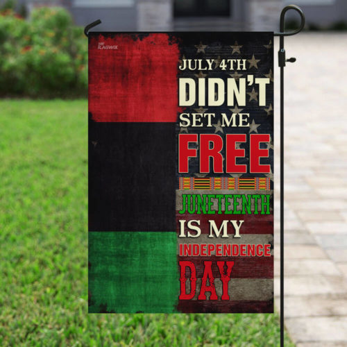 american flag juneteenth is my independence day african all over print flag 4