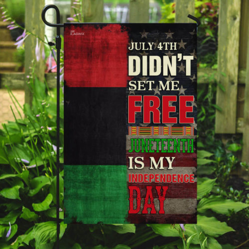american flag juneteenth is my independence day african all over print flag 5