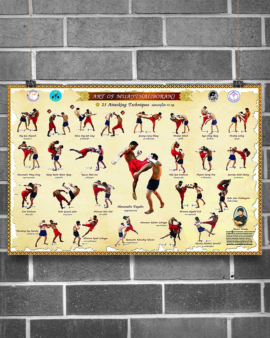 art of muaythai boran poster 3