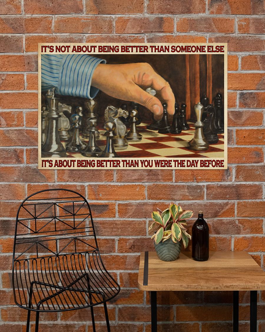 chess its is not about being better than someone else poster 3