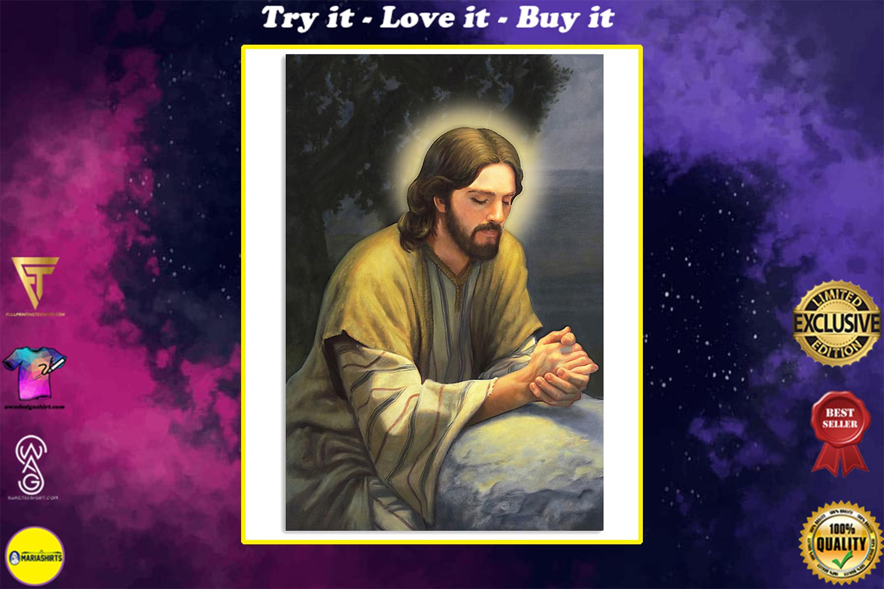 close my eyes and pray God poster