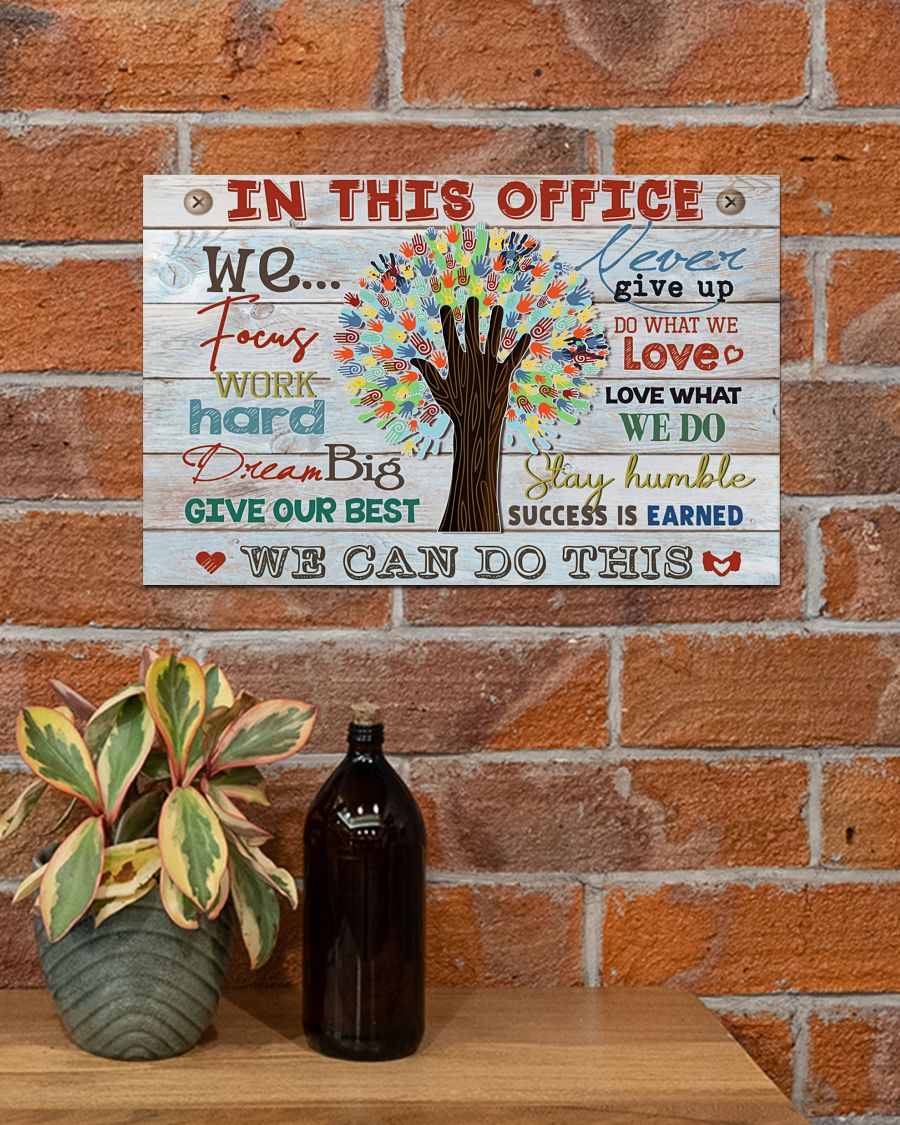 social worker in this office we can do this poster 4