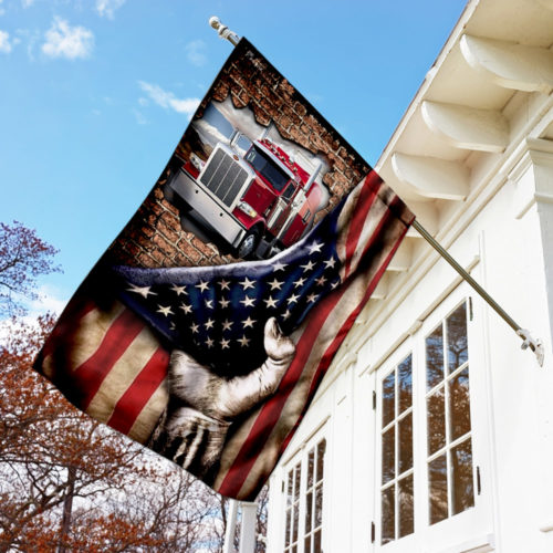 truck driver american flag all over print flag 3