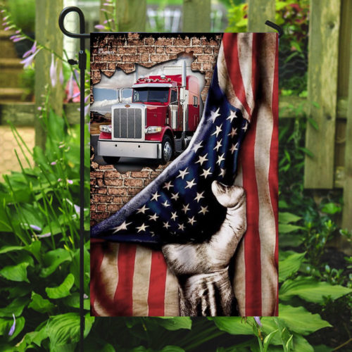 truck driver american flag all over print flag 5