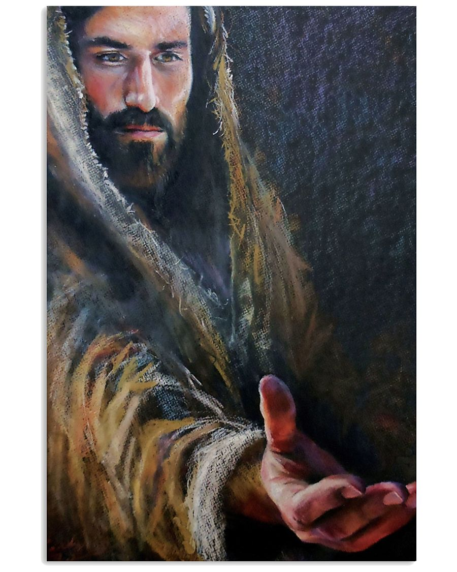 vintage Jesus give me your hand poster 2